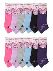 A206 носки женские цветные 37-42 (12шт)