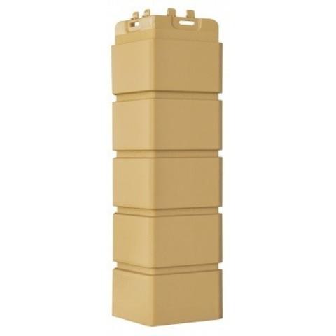 Угол наружный Гранд Лайн Клинкерный кирпич песочный 410х120 мм