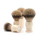 Помазок MUEHLE CLASSIC, барсучий ворс высшей категории Silvertip, смола, цвет слоновой кости, размер XL (95 K 257)