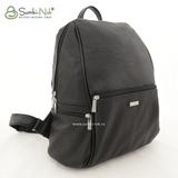 Сумка Саломея 548 итальянский черный (рюкзак)