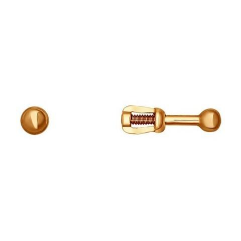 Серьги-пусеты из золота арт. 021685 SOKOLOV