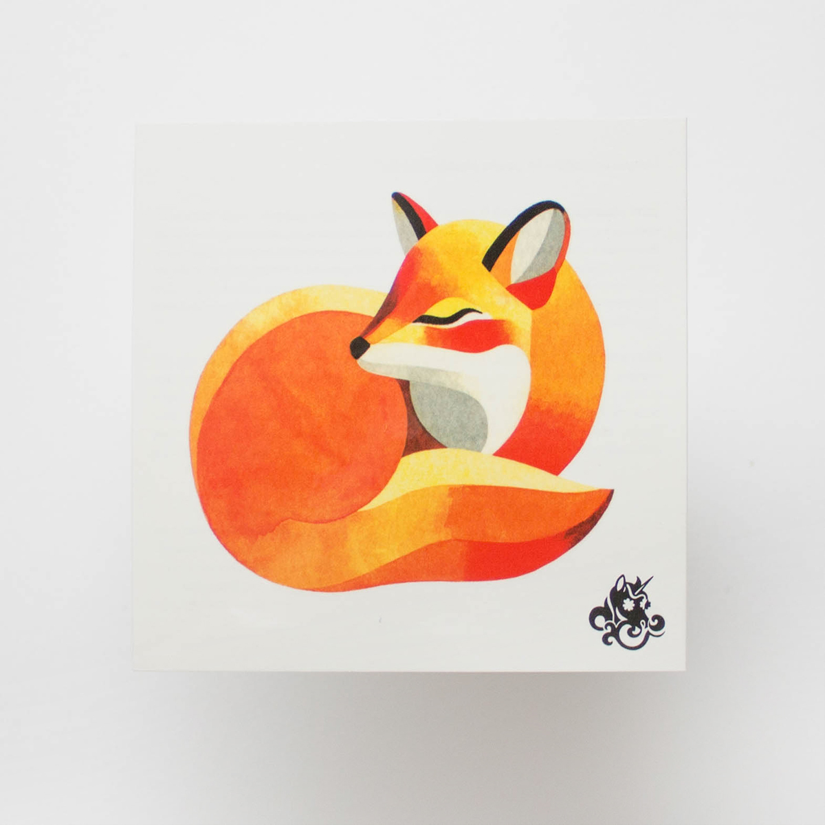 Переводная татуировка Kid fox