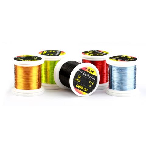 HENDS Проволока металлическая Color Wire 0,18 18 Yards