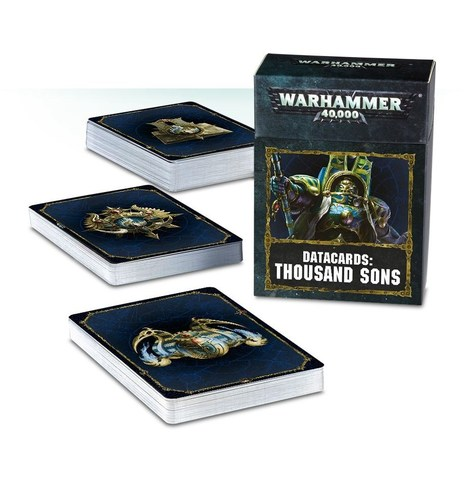 DATACARDS: THOUSAND SONS (ENGLISH)
