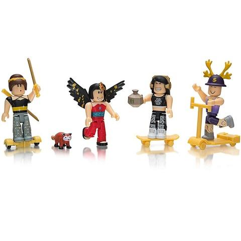 Роблокс Наследница Биллионера набор из 4 фигурок