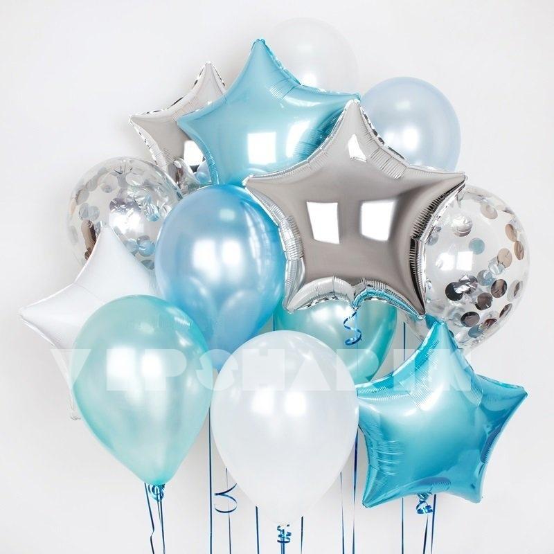 Букет из воздушных шаров «Сияние»