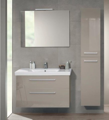 Шкаф-пенал Villeroy&Boch 2DAY2 A99600E6 glossy taupe
