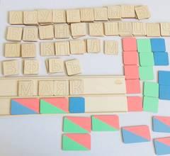 Схема слова для школьников, Сенсорика