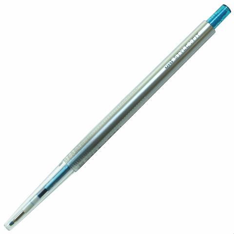 Гелевая ручка 0,38 мм Uni Style Fit - Sky Blue - зелено-голубые чернила