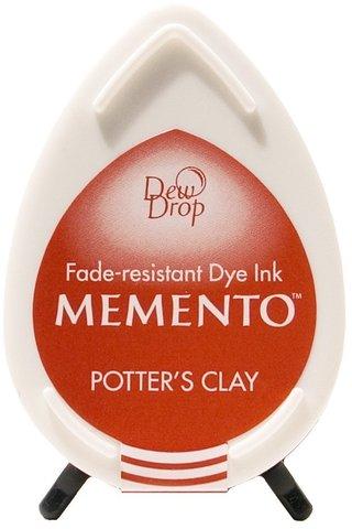 Штемпельная подушечка mini - MEMENTO - Potters Clay