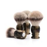 Помазок MUEHLE CLASSIC, фибра высшей категории Silvertip, смола, цвет рога, размер M (31 K 252)