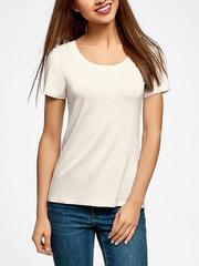 32020-6 футболка женская, молочная