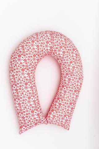Подушка для беременных U300 (лебяжий пух) 10658 снежинки