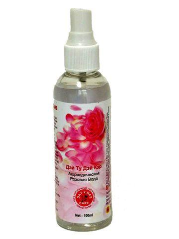 Розовая вода спрей 100 мл D2D