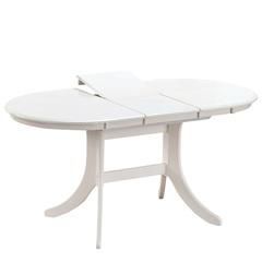 Стол обеденный AVANTI GAVANA (120) WHITE (белый)