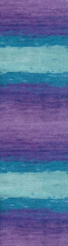 Купить Пряжа Alize Lanagold batik Код цвета 3927 | Интернет-магазин пряжи «Пряха»