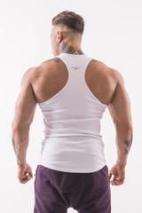 Мужская футболка Nebbia AW Gym Singlet 726 white