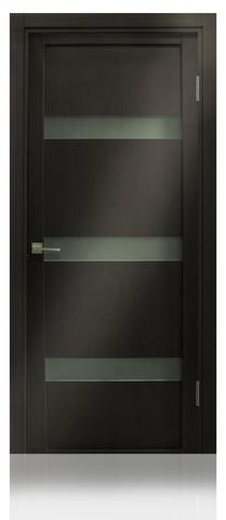 Дверь Верона 04 (венге, остекленная экошпон), фабрика Casa Porte