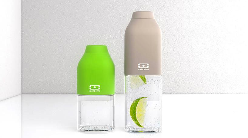 Бутылка Monbento Positive (0,5 литра) серая