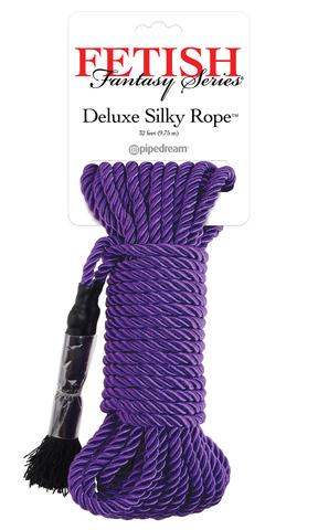 БДСМ веревка для бондажа Deluxe Silky Rope (9,75 м)