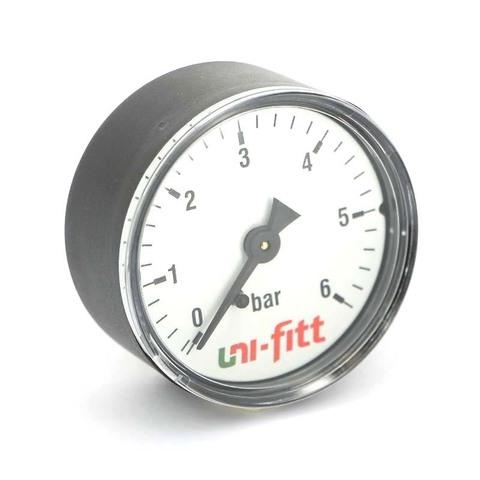 Манометр давления Uni-fitt 10 бар аксильный