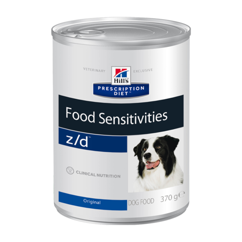 Hill's Prescription Diet z/d Food Sensitivities Консервы диетические гипоаллергенный для собак при пищевой аллергии