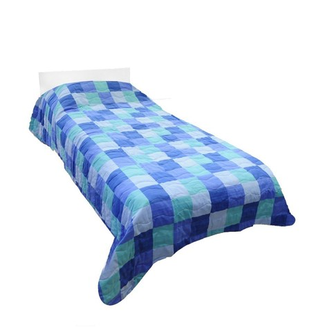 Покрывало 170х270 Caleffi Spring синее