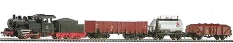 PIKO 57160 Стартовый набор модельной железной дороги «Грузовой состав DR», НО