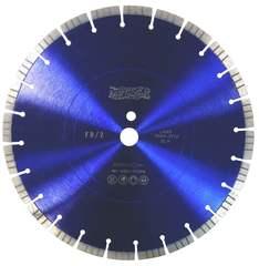 Диск алмазный турбосегментный MESSER FB/Z по железобетону, с возможностью сухой резки  400D-3.2T-12W-28S-25.4