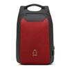 Рюкзак Антивор с кодовым замком BAIBU 1961 Красный