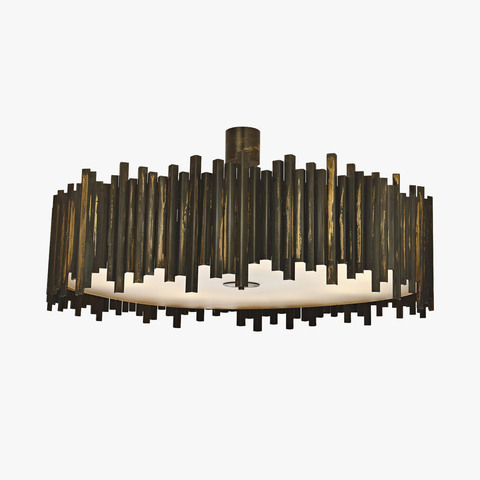 replica light  CONCERTINA CHANDELIER by BELLA FIGURA