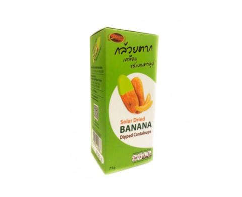 Ломтики Вяленого Банана в Дынной Глазури