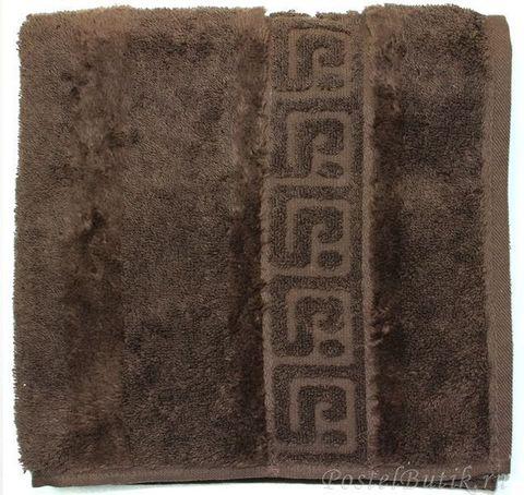 Полотенце 30x50 Cawo Noblesse 1001 темно-коричневое