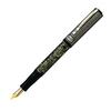 перьевая ручка visconti salvador dali темно синий перо m vs 664 18m Перьевая ручка Visconti Lacerba серебро 925 пр черная перо 18 кт (Vs-202-02)