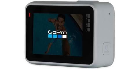 Экшн-камера GoPro HERO7 White Edition (CHDHB-601-LE) вид сзади ЖК экран