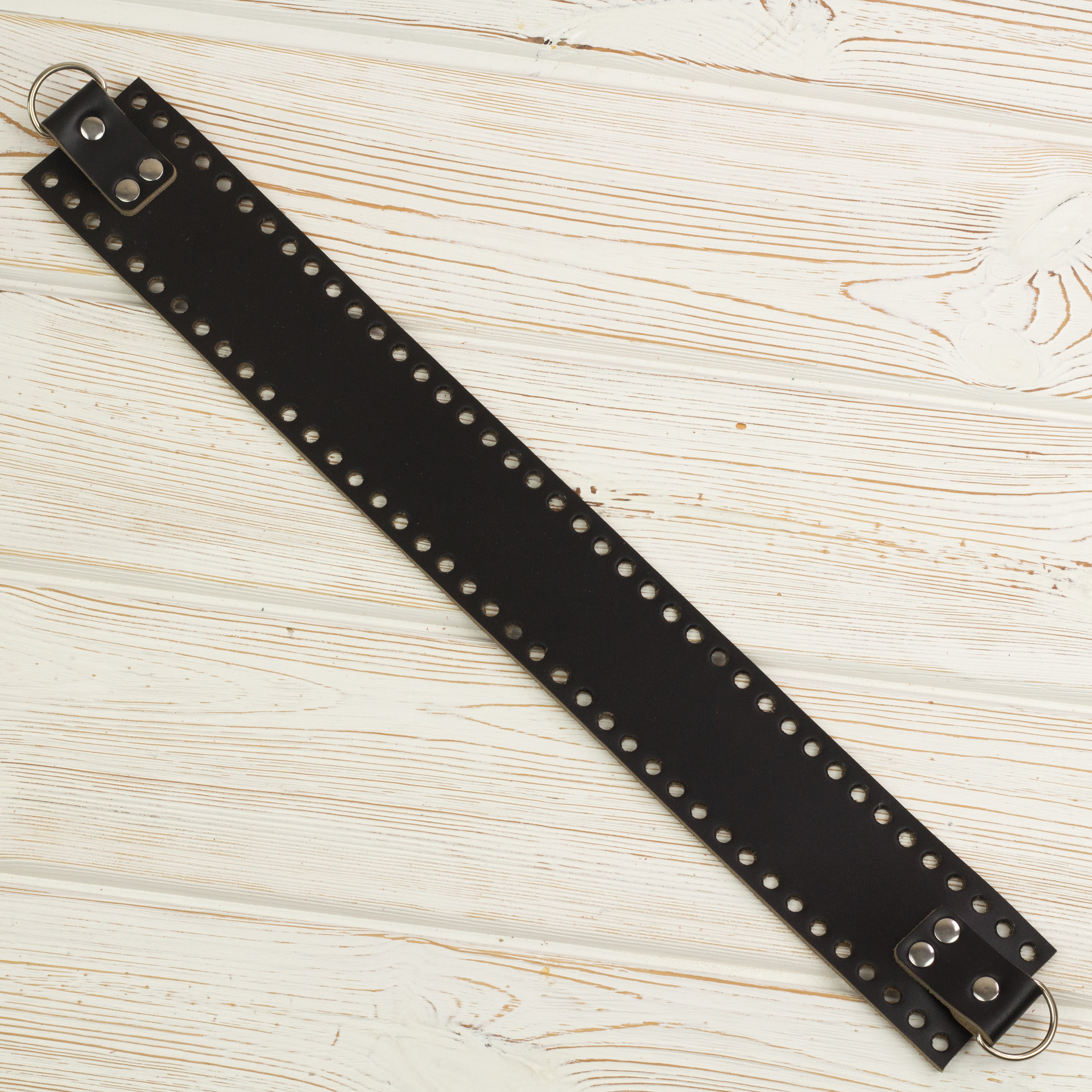 Вся фурнитура Боковая часть для сумки черная узкая 4мм IMG_3936.JPG