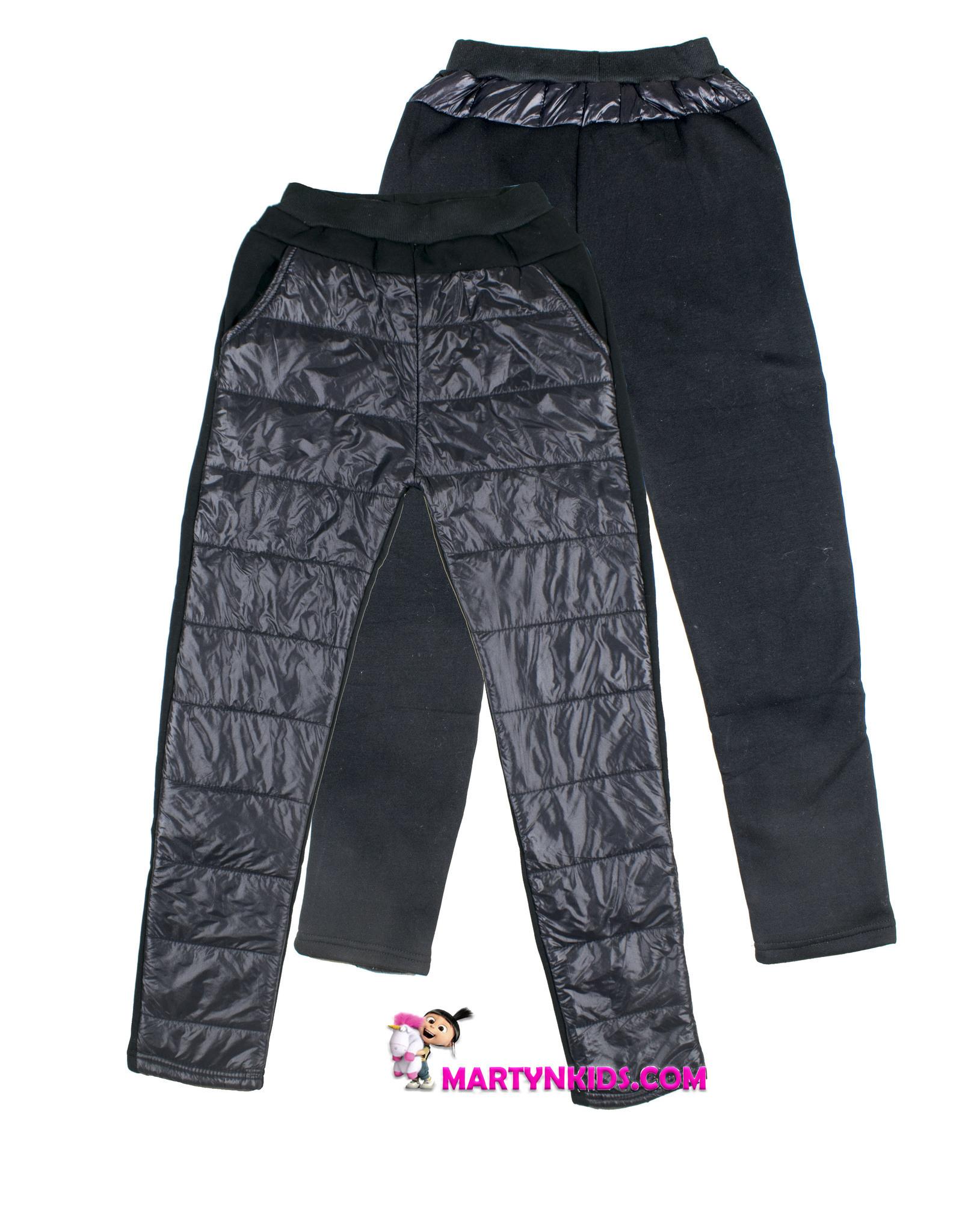 2077 зима штаны теплые комбинированные