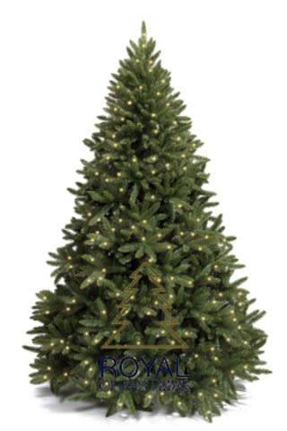 Ель искусственная Royal Christmas Washington Premium с огоньками - 180 см.