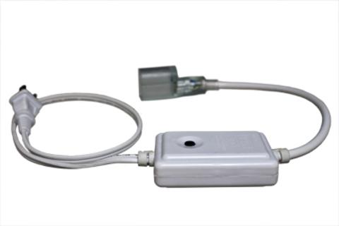 Вилка сетевая для дюралайта с эффектом мигания 12 видов мигания коннектор сетевой для шланга светодиодного
