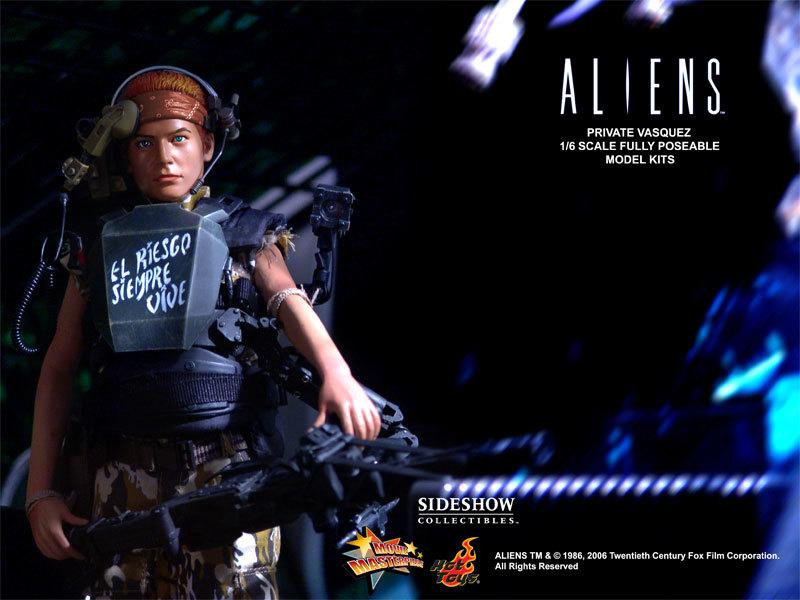 Aliens - USCM Private Vasquez 12 inch model kit