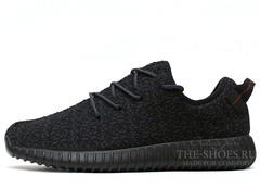 Кроссовки Мужские Adidas Originals Yeezy 350 Boost Pirate Black