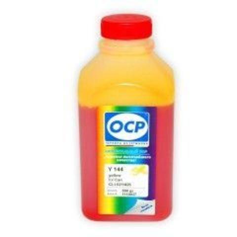 Чернила OCP Y 144 Yellow для Canon CLI-521Y, 500 мл