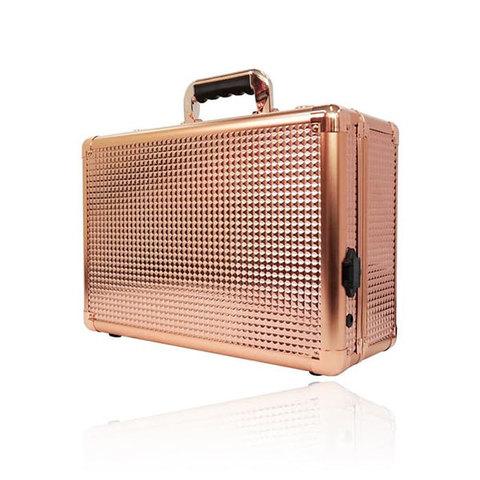 Бьюти кейс визажиста на колесиках (мобильная студия) LC7019 Gold&Diamond