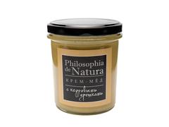 Крем-мед Philosofia de Natura с кедровыми орешками, 180 мл
