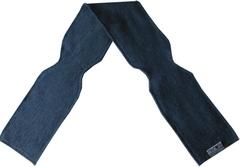 Шарф ManyMonths, от 5 лет и более (от 104 см), Серый меланж (шерсть мериноса 100%)