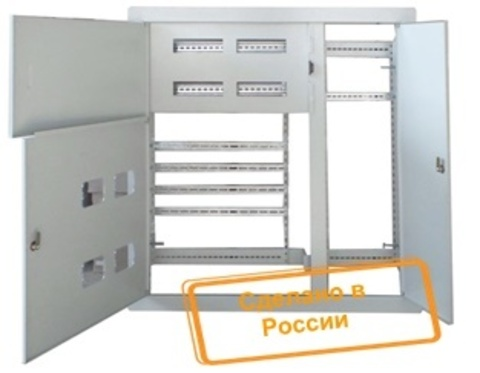 Корпус щита этажного 4 кв. модифицированный Народный (1000х950х140)