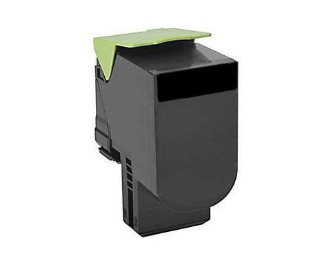 Картридж для принтеров Lexmark CX310/410/510 черный (black). Ресурс 2500 стр (80C8SKE)