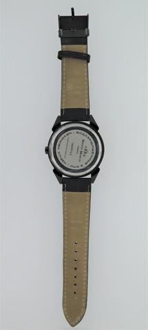 Часы из метеорита Сеймчан с фианитами