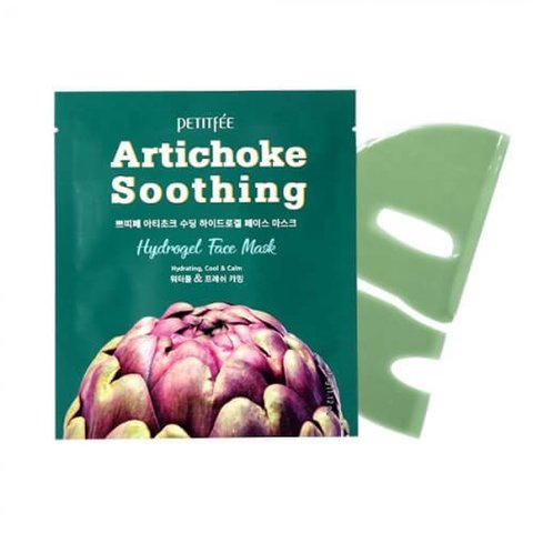 Гидрогелевая маска с артишоком Artichoke Face Mask от Petitfee