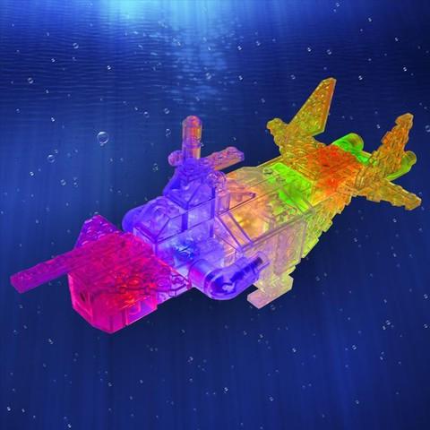 Конструктор «Гео Океан» 6 в 1 от Laser Pegs (NG 100)